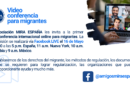 Videoconferencia online para migrantes