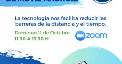 """Taller de uso y configuración del móvil Android """"SUPERANDO LA BRECHA DIGITAL"""""""